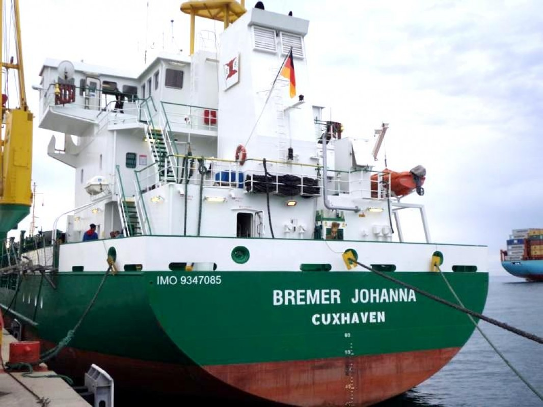 MV BREMER JOHANNA under German Flag