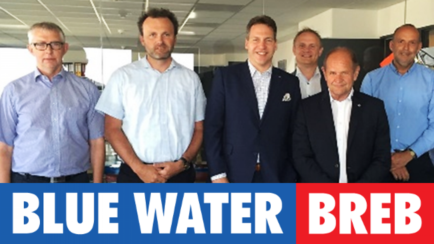 A joint venture between Blue Water Shipping and BREB