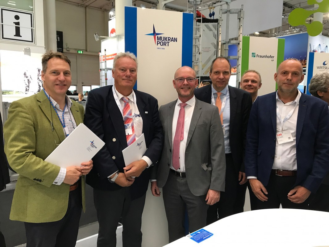 Strategische Partnerschaft zwischen Mukran Port Terminals GmbH und Blue Water BREB GmbH